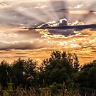 Redreaming Sempronius Sunset Series. Crepuscular rays 2 by REDREAMER