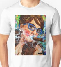 Smoking with specs 2 Unisex T-Shirt