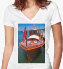 Fancy Cruiser Women's Fitted V-Neck T-Shirt