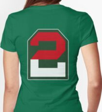ARMY, Military, 2, two, US, USA, America, American, Second Army, 2nd Army, Shoulder Sleeve, Insignia. T-Shirt