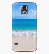 Sanfte Wellen am Sandstrand in Hawaii Hülle & Skin für Samsung Galaxy