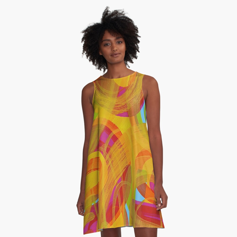 Don't Forget Your Roots A-Line Dress