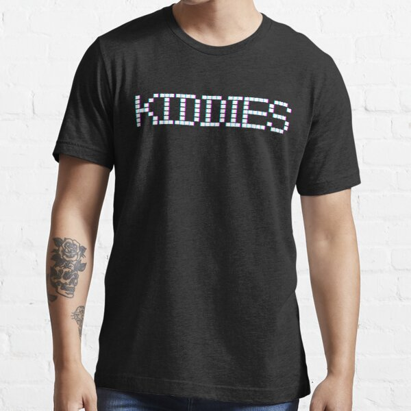 Kiddies Bitmap Typography  Essential T-Shirt