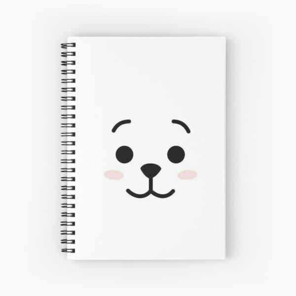 Caja del teléfono bt21 RJ Cuaderno de espiral