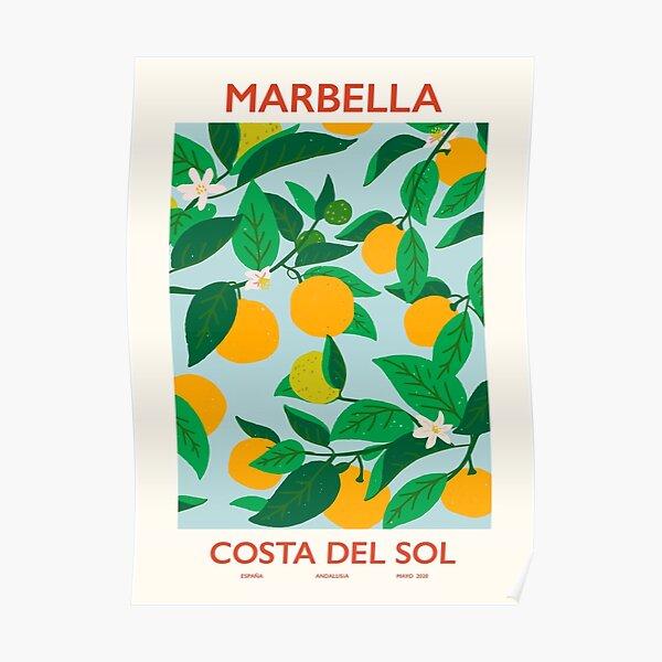 Marbella costa del sol Poster