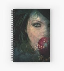 BEWARE THE POISON APPLE Spiral Notebook