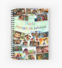 Become Jehovah's Friend - Caleb and Sophia Snapshots (Spanish) Spiral Notebook
