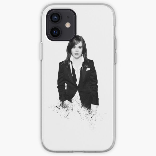 Elliot Page - shredded style iPhone Soft Case