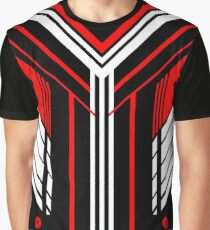 Red Vector Graphic T-Shirt