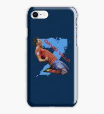 David Villa Celebration  iPhone Case/Skin