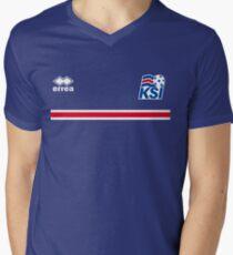 Iceland Football 2016 Men's V-Neck T-Shirt