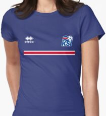 Iceland Football 2016 Women's Fitted T-Shirt