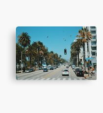 On Santa Monica Blvd. (Los Angeles) Canvas Print