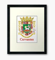 Cervantes Shield of Puerto Rico Framed Print