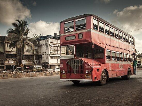 Bombay Bus by Michiel de Lange