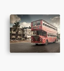 Bombay Bus Metallbild