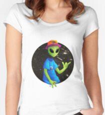 AlienAce Women's Fitted Scoop T-Shirt
