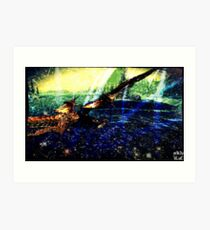 Dragon's Dreamland Art Print