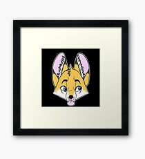 Cartoon Fox Framed Print
