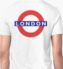 LONDON, UNDERGROUND, TUBE, ENGLAND, England, UK, Britain, BRITISH Unisex T-Shirt