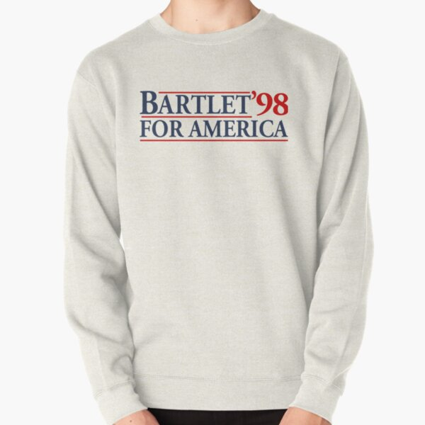 Bartlet for America Slogan Pullover Sweatshirt