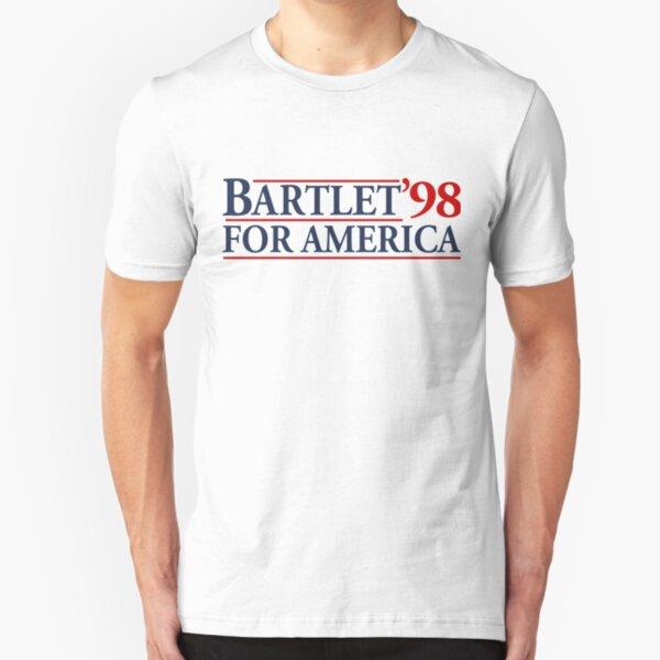 Bartlet for America Slogan Slim Fit T-Shirt