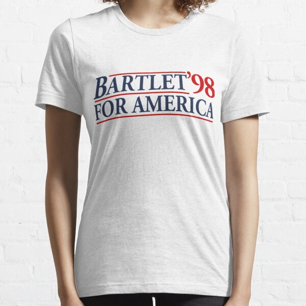 Bartlet for America Slogan Essential T-Shirt