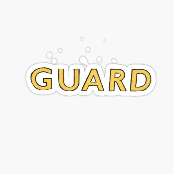 The Guard  Sticker