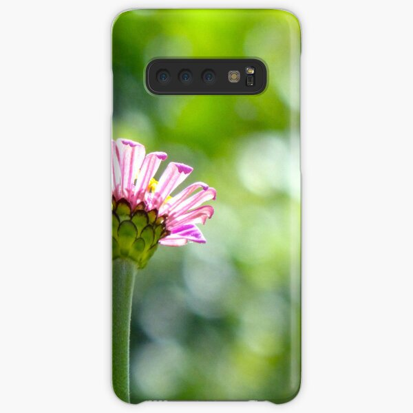 New Pink Zinnia Samsung Galaxy Snap Case