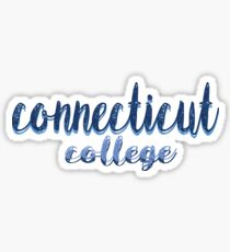 Connecticut College Sticker