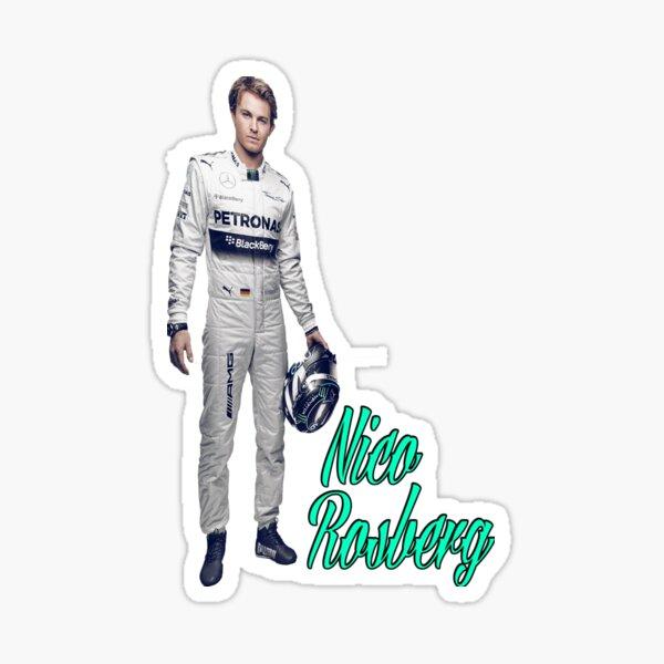 Sticker: Nico Rosberg | Redbubble