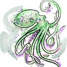 Green Splotchtopus  by Isabel Zaw-Tun