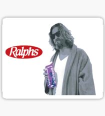 69 cent.  Jeffrey Lebowski, AKA The Dude at Ralph's Sticker