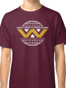 The Weyland-Yutani Corporation Globe - Clean Classic T-Shirt