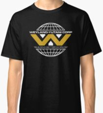 The Weyland-Yutani Corporation Globe - Clean Classic T-Shirt
