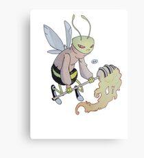 Cereal Monster: Buzz Bee Metal Print