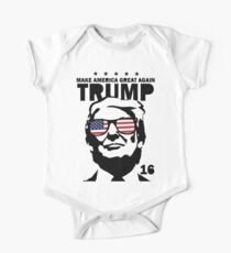 Donald Trump machen Amerika Great Again Shirt Baby Body Kurzarm