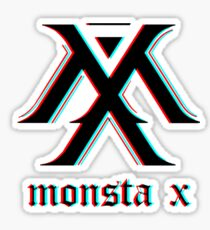 Monsta X 3D Sticker