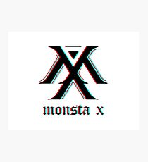 Monsta X 3D Photographic Print
