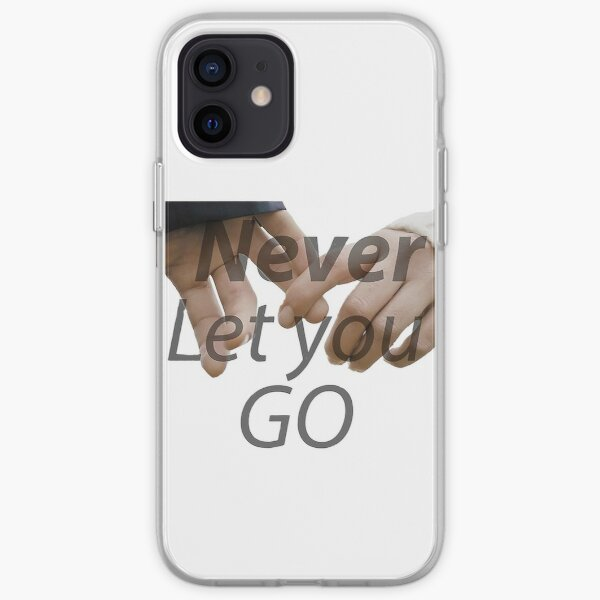 never let you go iPhone Soft Case