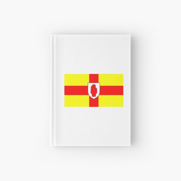 Northern Ireland Flag of Ulster  Hardcover Journal