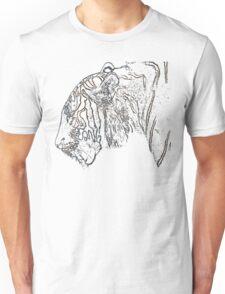 tiger, colored tiger shirt Unisex T-Shirt