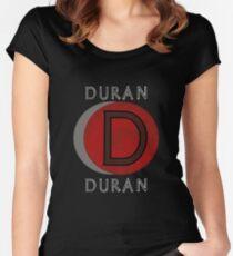 duran duran logo Women's Fitted Scoop T-Shirt