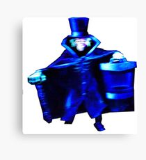 The Hatbox Ghost Canvas Print