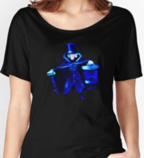 The Hatbox Ghost Women's Relaxed Fit T-Shirt