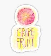 Grapefruit by VIXTOPHER Sticker