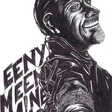 """Negan : """"EenyMeenyMineyMoe"""" by MaryaSaraS"""