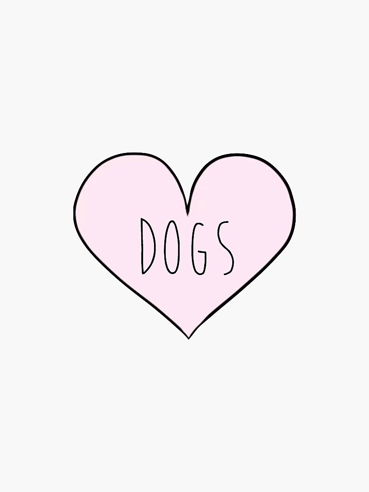 Dog Heart by sarajodesigns