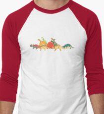Walking With Dinosaurs Men's Baseball ¾ T-Shirt
