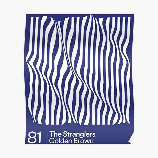 The Stranglers — Golden Brown  Poster